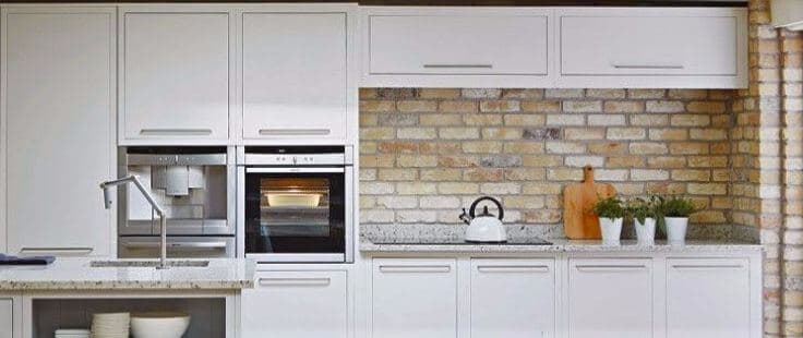 Contemporary kitchen handles