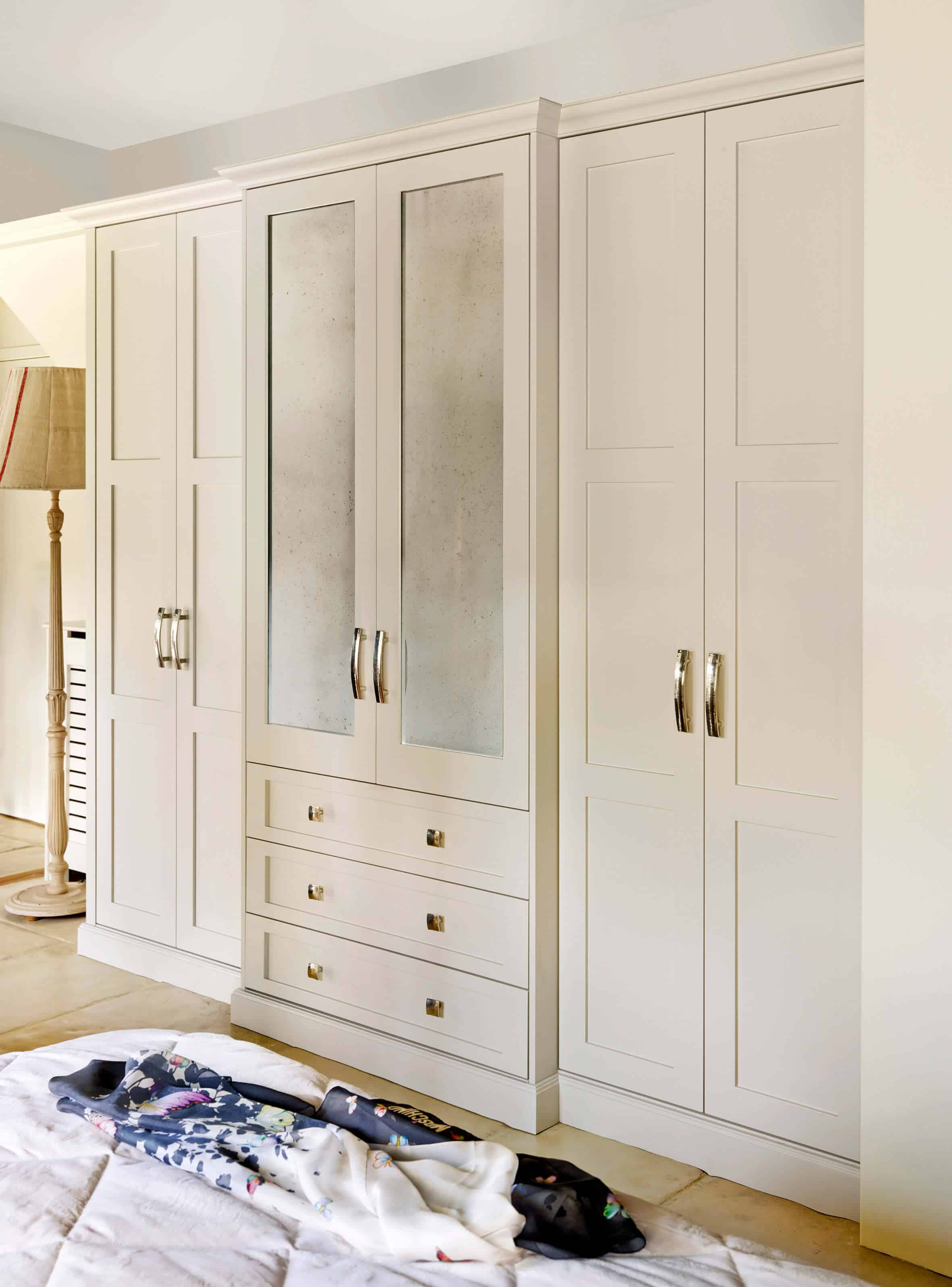 Shaker style wardrobe by John Lewis of Hungerford
