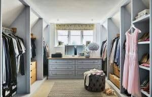 Bespoke fitted wardrobe John Lewis of Hungerford