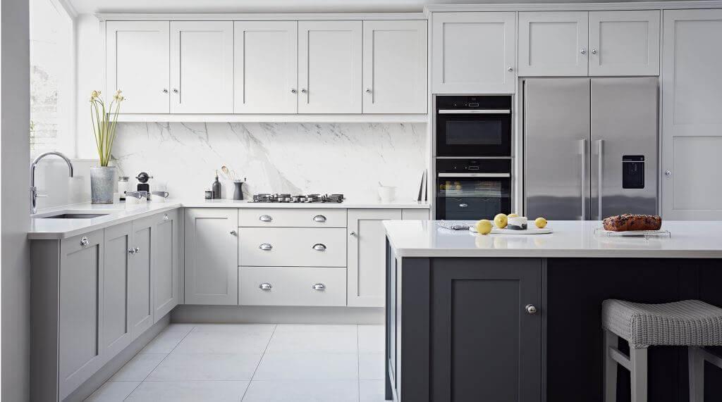designer painted kitchens bespoke painted kitchens. Black Bedroom Furniture Sets. Home Design Ideas