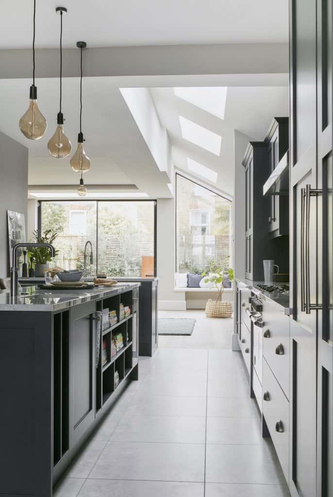 Blue Shaker Kitchen John Lewis of Hungerford