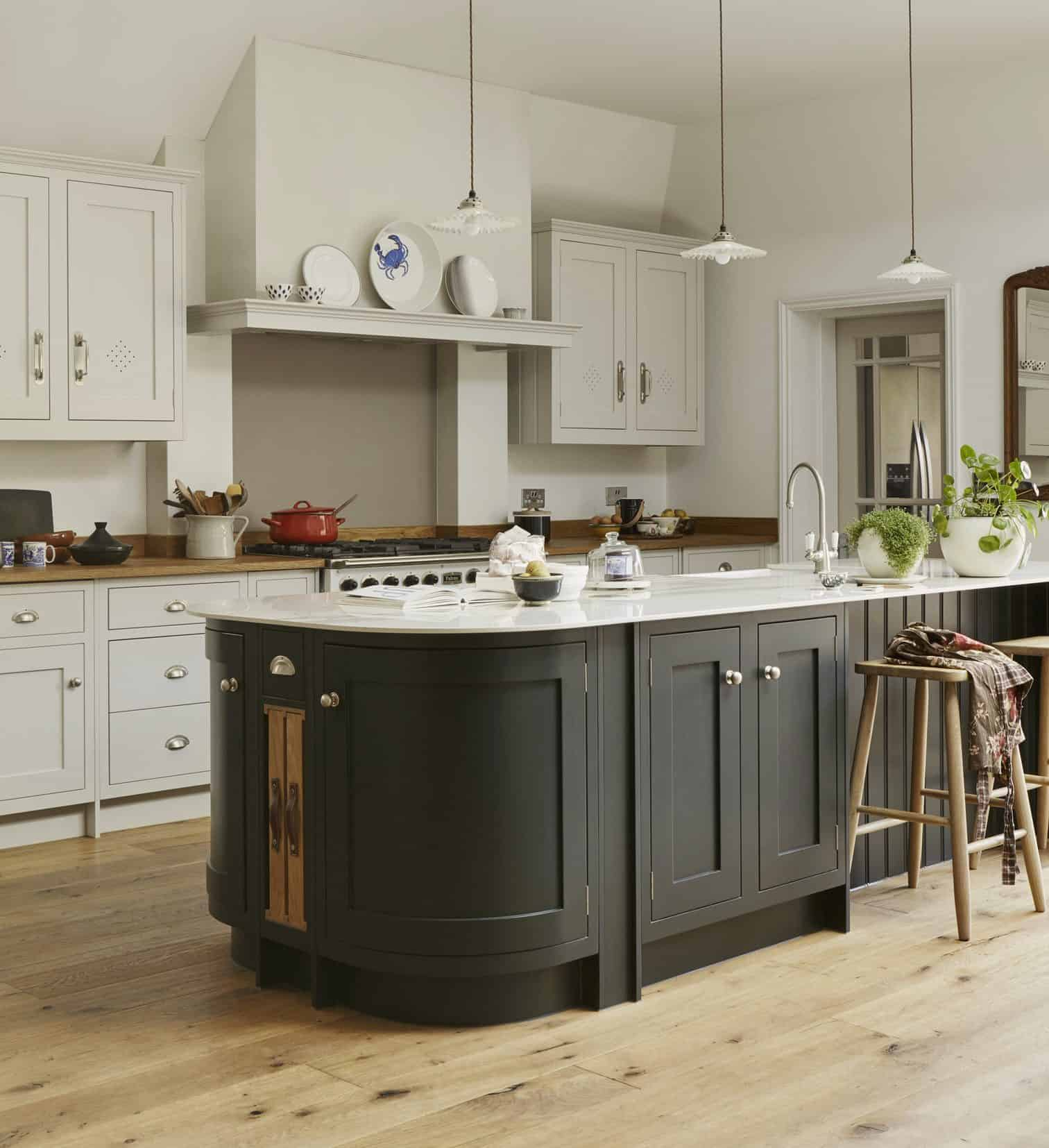country kitchen island John Lewis of Hungerford