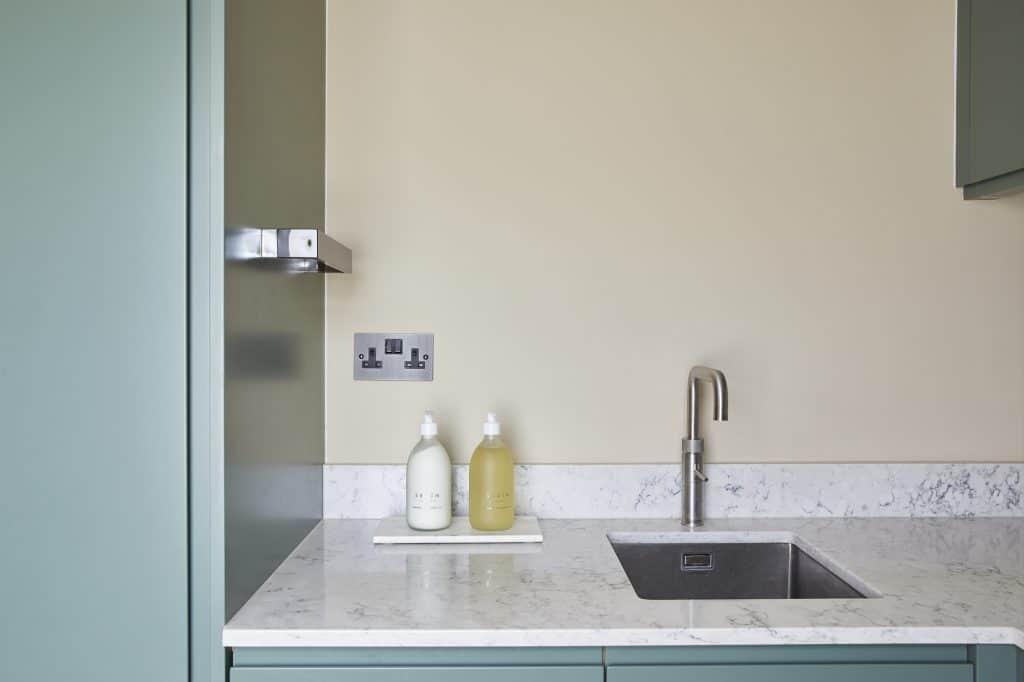 Mico kitchen sink area