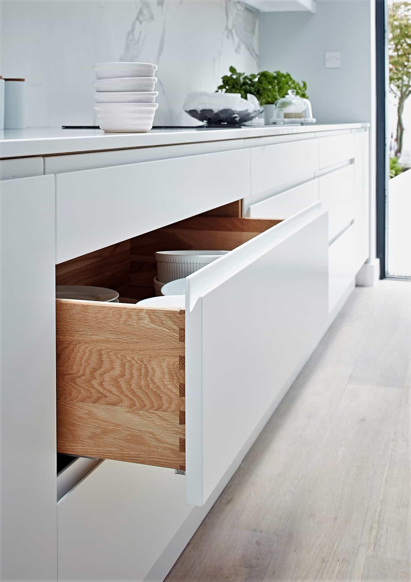 handleless drawer