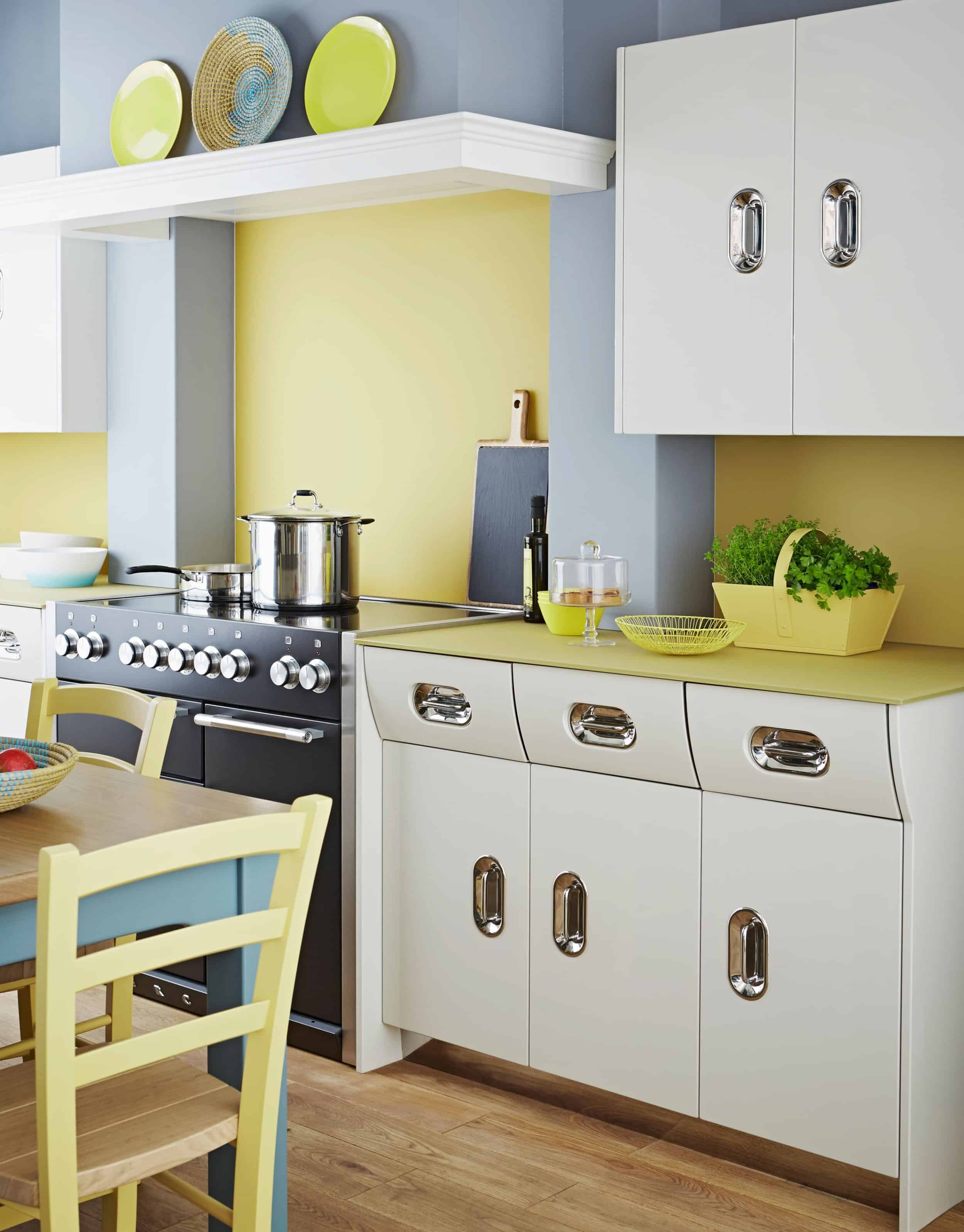 Retro kitchen John Lewis of Hungerford