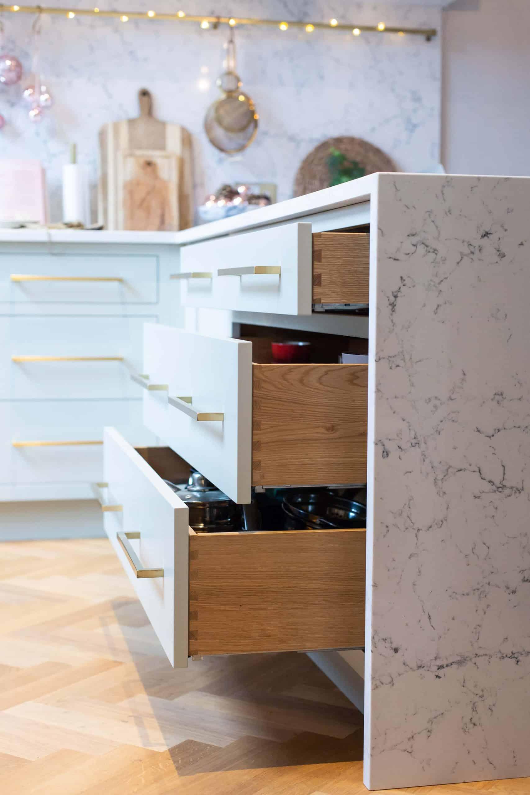 shaker drawers