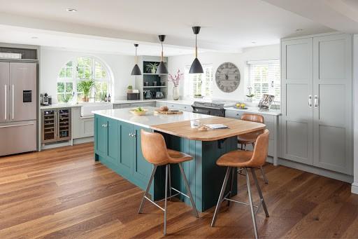 Grey Kitchen Units, Grey Kitchen Cabinets What Colour Walls Uk