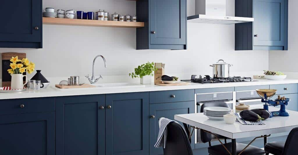 Bespoke Shaker kitchen doors John Lewis of Hungerford